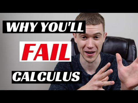 Why People FAIL Calculus (Fix These 3 Things to Pass)
