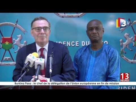 06 08 2019  Ambassadeur Jean LAMY fait ses adieux au President du Faso