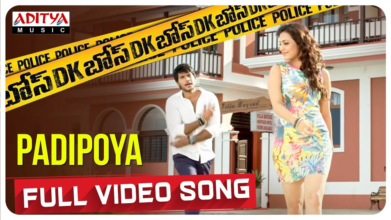 Padipoya Full Video Song From DK Bose