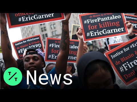 'I Can't Breathe' Protests in New York Mark 5 Years Since Eric Garner's Death