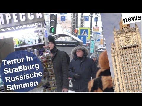 Terror in Straßburg: Russische Stimmen [Video]