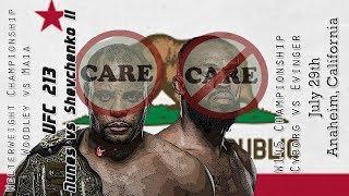 UFC 214 Jones vs Cormier 2 Care/Don