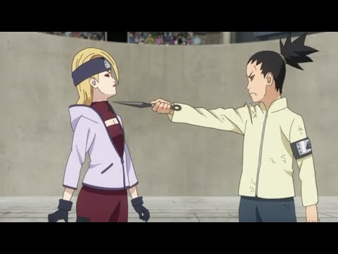 Shikadai VS Yodo Full Fight Chunnin Exams baruto EPS 58