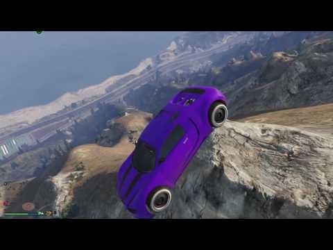 GTA 5 - Driving Super Cars Off Mount Chiliad | 1080p 60fps