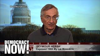 Video Seymour Hersh Recalls Reporting On My Lai Massacre In Vietnam