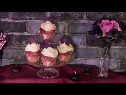 Halloween-Rezept: Chica Vampiro Cupcakes