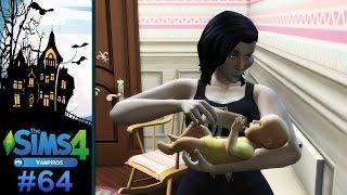 The Sims 4 - Desafio da Viúva Negra Vampira #64 - O novo BEBÊ de Danesca
