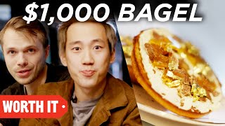 $1 Bagel vs. $1,000 Bagel - Video Youtube