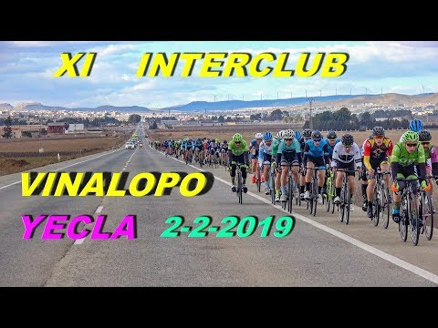 XI Interclub Vinalopo YECLA 2-2-2019 Ciclismo 4K UHD