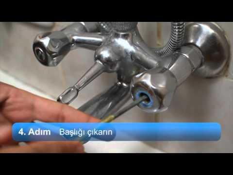 musluk contası nasıl değiştirilir