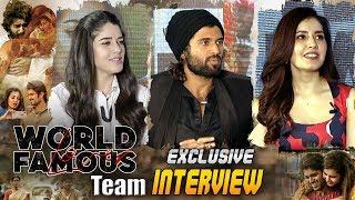 World Famous Lover Team Exclusive Interview | Vijay Devarakonda | Rashi Khanna | ABN Entertainment