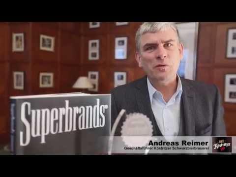 Superbrands Germany - Köstritzer ausgezeichnet