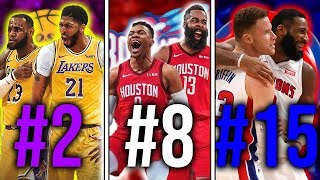 Ranking the Best Duos From EVERY NBA Team 2019 20