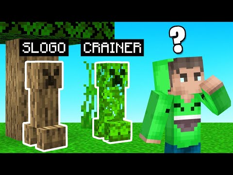 Hide & Seek As CAMO CREEPERS! (Minecraft)