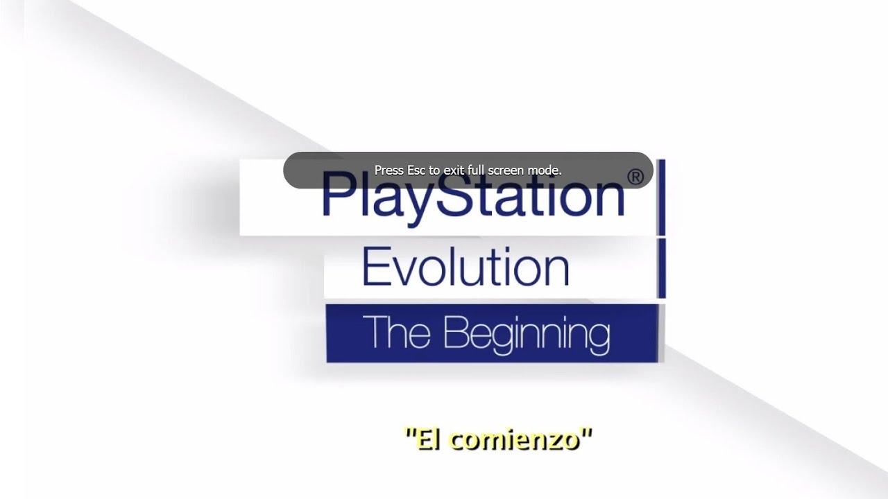 La evolución de PlayStation: El principio