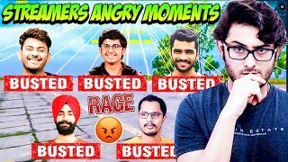 PUBG Streamers Rage Caught on Camera! | Funny Streamers Rage Moments on Stream.