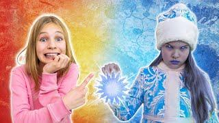 Amelia, Avelina and the frozen Ice Queen challenge