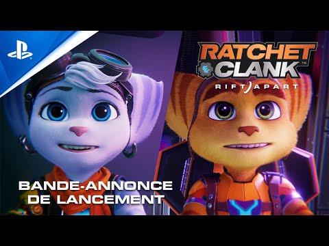 Bande-annonce de lancement (VF) de Ratchet & Clank : Rift Apart