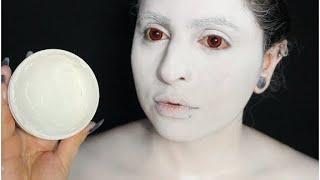 WHITE FACE  MAKEUP FOR COSPLAY/HALLOWEEN (Mehron )