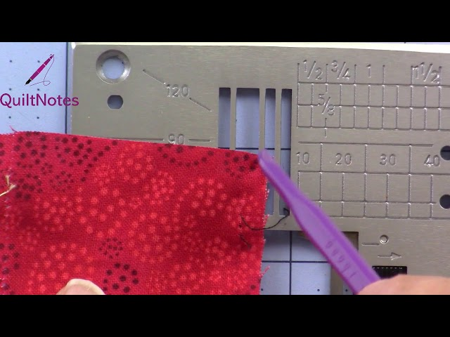 Fabric Catching in Needle Plate