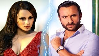 Kangana Ranaut SLAMS Open Letter to Saif Ali Khan on Nepotism INSULT