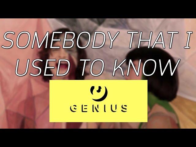 เรียนภาษาอังกฤษจากเพลง : SOMEBODY THAT I USED TO KNOW