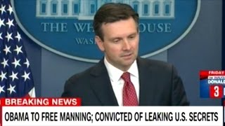 """She Went Through The Justice System"" White House Explains Chelsea Manning Commutation"