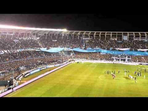 """""""Racing Club - La Guardia Imperial desplega el nuevo telon"""" Barra: La Guardia Imperial • Club: Racing Club • País: Argentina"""
