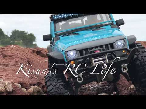 Traxxas TRX-4 | New Bright Jeep Rubicon JK | With Waves