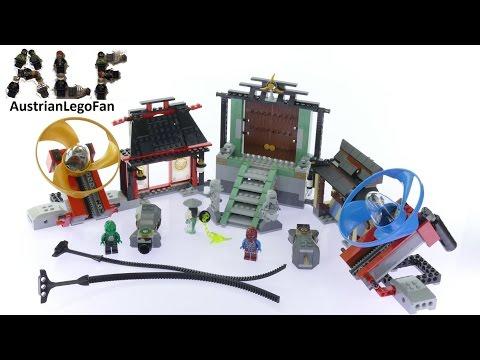 Vidéo LEGO Ninjago 70590 : L'arène de combat Airjitzu