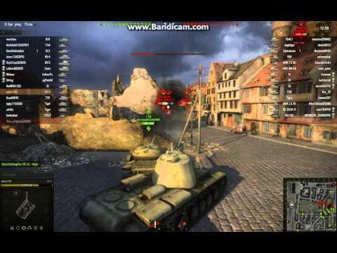 world of tanks KV-3 gameplay