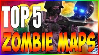 TOP 5 IMPOSSIBLE HIGH ROUND MAPS IN COD ZOMBIES\