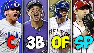 BEST MLB Player At EVERY Position in 2019