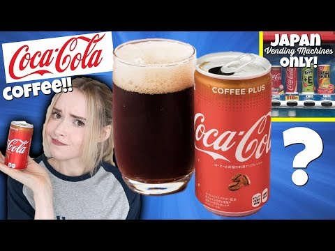Coca-Cola Coffee in Japan (Taste Test)