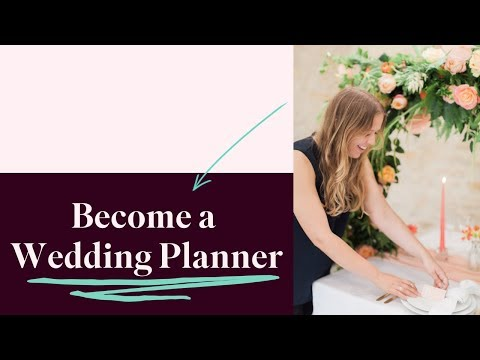 How to Become a Wedding Planner   Start A Wedding Planning ...