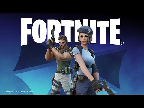 Fortnite : Les agents des S.T.A.R.S. Chris Redfield et Jill Valentine débarquent sur l'île de Fortnite