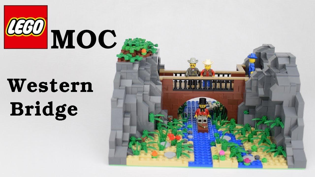 Lego MOC - Western Bridge