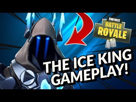 New The Ice King Silver Skin Showcase With 130 Fortnite Dances