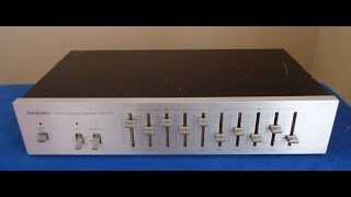Technics SH-8010 Graphic Equalizer __________ Sn: MN0212A017
