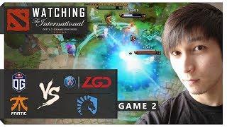 WATCHING TI8 | OG vs PSG.LGD & Liquid vs Fnatic (SingSing Dota 2 Highlights #1207)