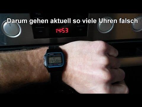 Stromknappheit in Europa: Deshalb gehen eure Uhren nicht mehr richtig / Digitaluhren gehen nach