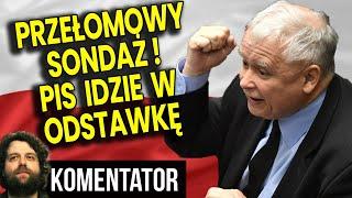 Przełomowy Sondaż Wyborczy! PIS Już NIE WYGRYWA! Nowy Sejm Bardzo Dziwny! Analiza Komentator Finanse