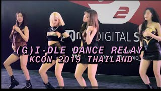(G)I-DLE DANCE RELAY M2 - KCON 2019 THAILAND 190929