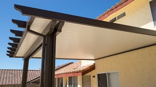 Aluminum Non Insulated Patio Cover Los Angeles Thousand Oaks