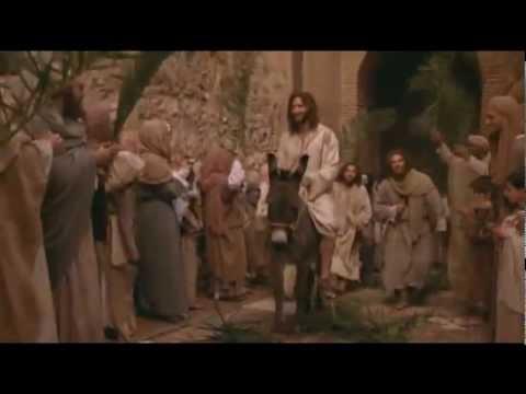 Jesus triumphant entry into Jerusalem [Palm Sunday]
