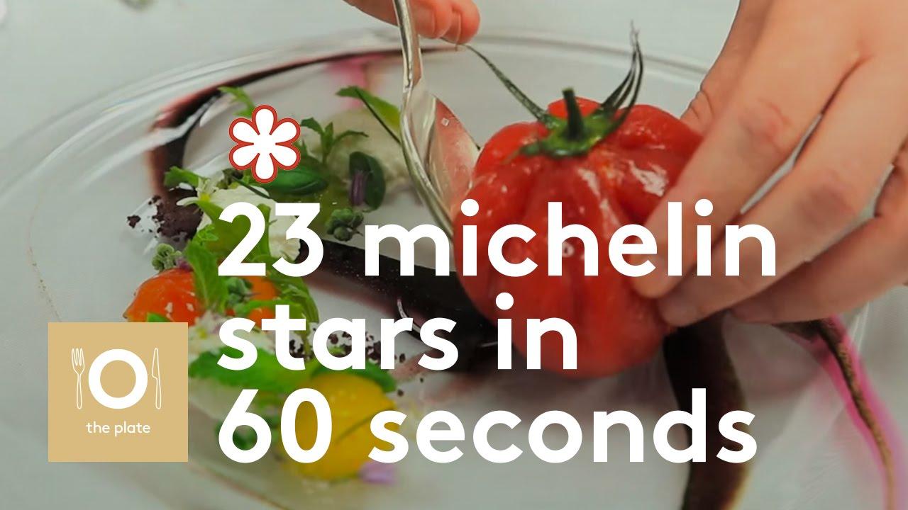23 Michelin Stars in 60 seconds