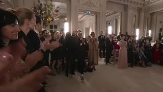 Valentino Spring '19 Haute Couture  Show Closed by Naomi Campbell