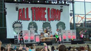 All Time Low (feat Good Charlotte)- Dear Maria, Count Me In (Live)