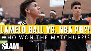 LaMelo Ball vs. NBA Point Guard?! 👀 Who Won the Matchup?!?