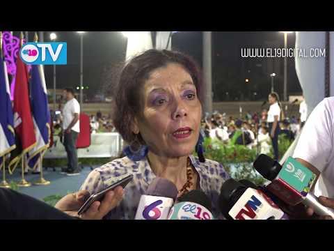 Compañera Rosario resalta la promoción de valores en nuestras fiestas patrias